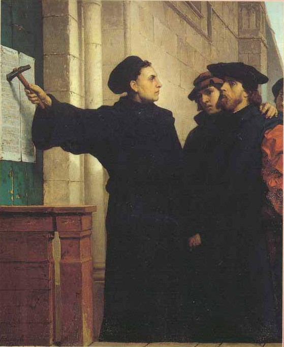 Luther invited church leaders to discuss a few concerns